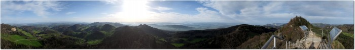 360° Panorama Belchenflue