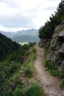 Trail vom Monstein nach Jenins