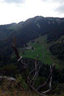 Bettlachstock - Blick zum Bettlachberg