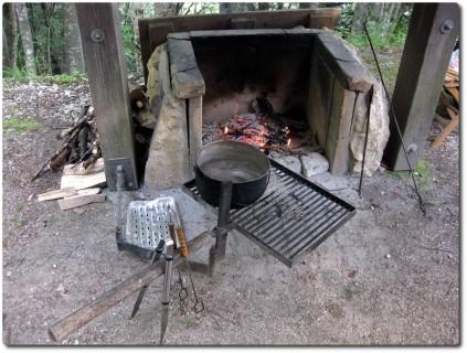 Chalet Geissfluh - Feuerstelle