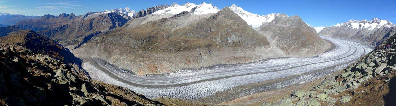 Aletschgletscher vom Bettmerhorn