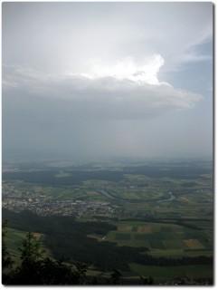 Chalet Geissfluh - Ausblick ins Mittelland