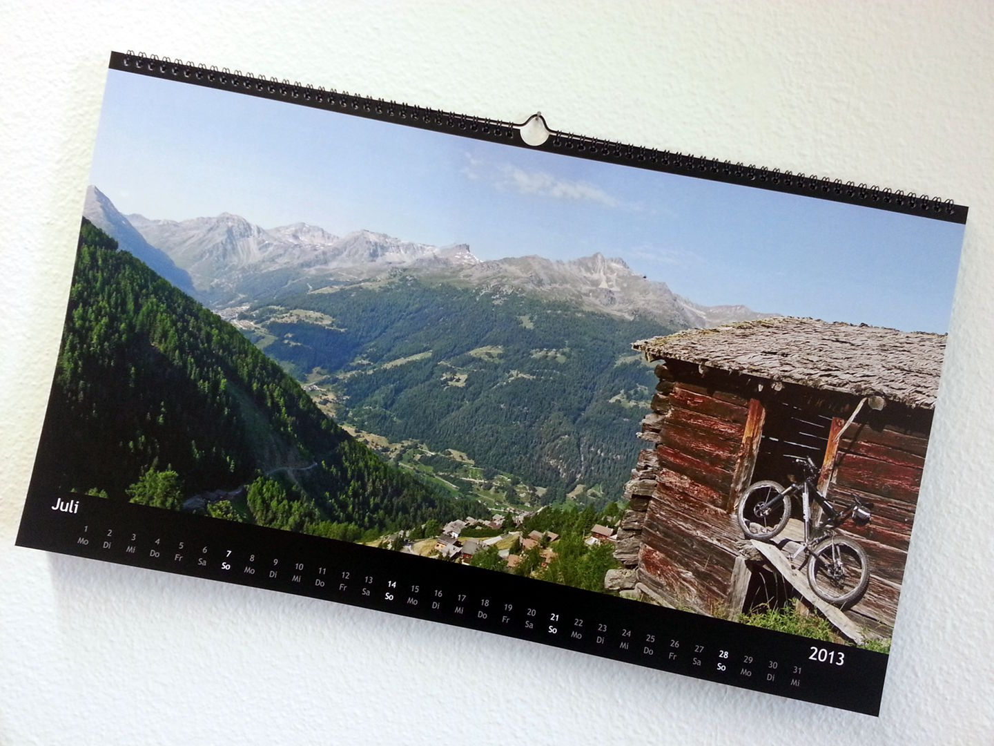 Mountainbike Kalender 2013