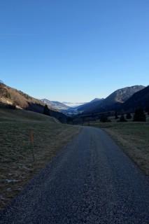 Binzberg - Blick ins Thal