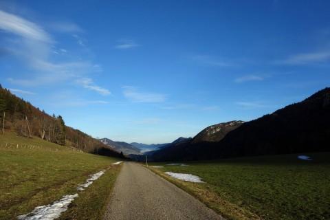 Binzberg - nur noch runter