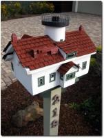 Amerikanische Briefkästen Leuchtturm Variante 1