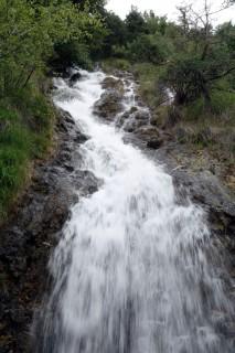 Wasserfall bei der Blagghalde
