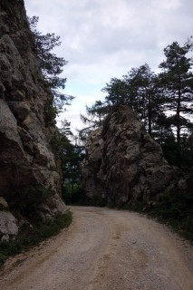 Aufstieg zum Bettlachberg