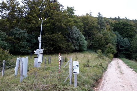 Waldmessstation am Bettlachstock
