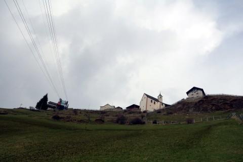 Unterhalb Bergstation St. Martin am Kofel