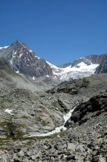 Blick zum Glacier du Brenay