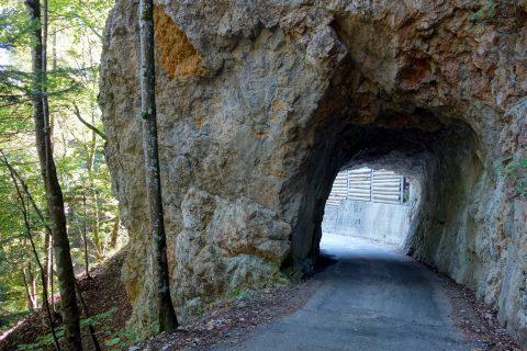 Tunnel unterhalb des Brüggli