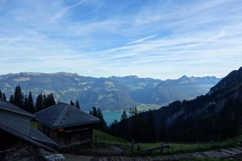 Blick zum Thunersee ab Brunni