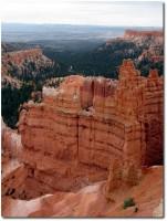Bryce Canyon, erster Ausblick