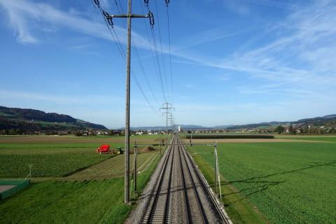 Bahnlinie Bern - Thun