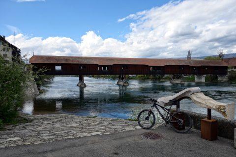 Aarebrücke Büren an der Aare