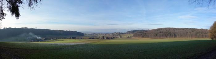 Panorama ob Bütikofen