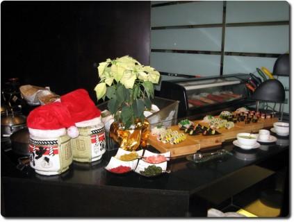 Buffet in China - Sushi Ecke