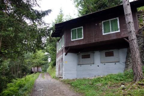 Alte Bunker bei bei Pardomat Dadens