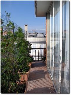Best Western Hotel Globus Rome - Blick vom Zimmerbalkon