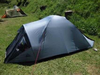 Zelten auf dem Camping du Pont Anniviers