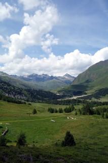 Blick zum Pass bei Campo Solario