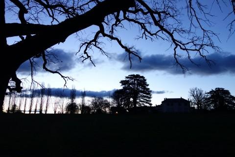 Blaue Stunde - Château des Bois