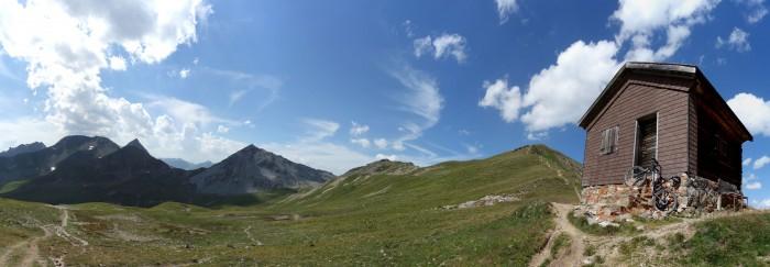 Panorama Chörbschhornhütte