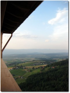Chutzenturm - Blick zum Jura