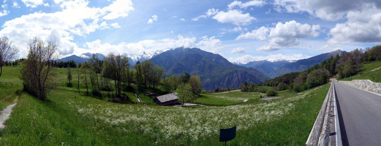 Panorama Col d'Arlaz