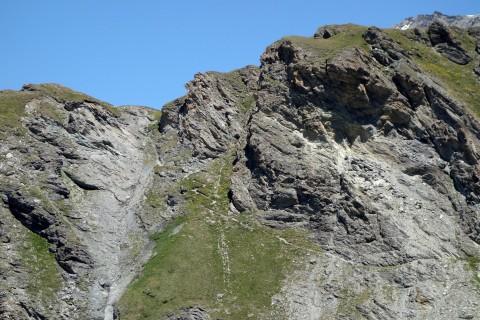 Aufstieg zum Col de Tsofeiret