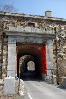 Colle del Melogno - Passtunnel