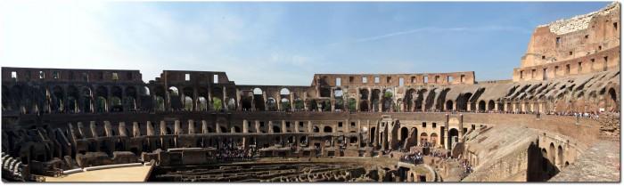 Kolosseum Panorama Innenraum