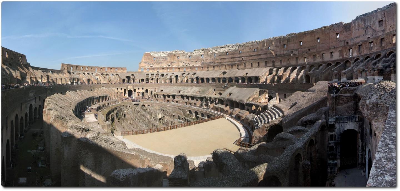 Panorama des Kolosseum