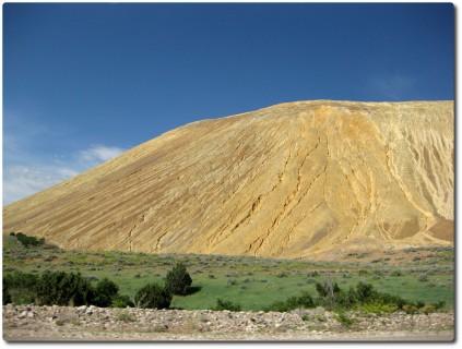Weltgrösste Kupfermine - Aushub