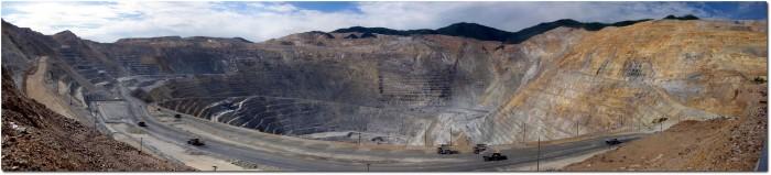 Weltgrösste Kupfermine - Panorama