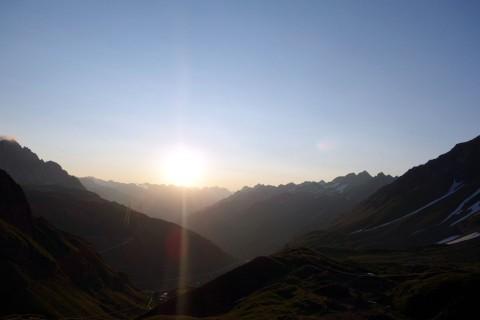 Sonnenaufgang Corno-Gries