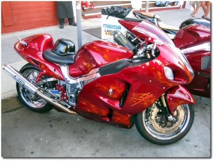 Custom Bike Red