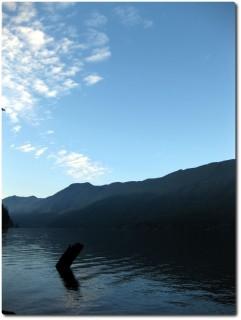 Cresent Lake am Abend
