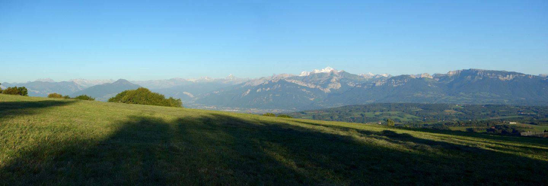 Panorama Mont-Blanc La Croisette