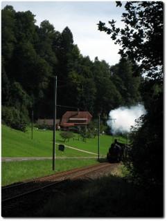 Dampfbahn nach Huttwil