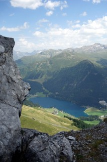 Blick auf den Davosersee