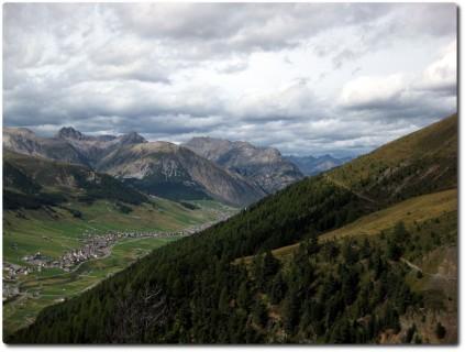 Traumtrail auf dem Höhenweg Mottolino - Val delle Mine