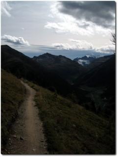 ...und Ausblicke auf die Berninagruppe in die andere Richtung