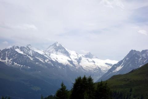 Dent Blanche und Matterhorn