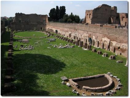 Palatin - Stadion des Domitian