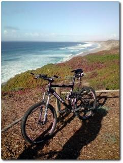 Delfine - Point Meeresblick mit Bike