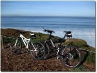 Zwei Mountainbikes - Partnerlook !