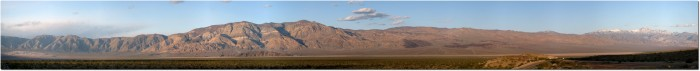 Panorma Panamint Springs - Dead Valley NP