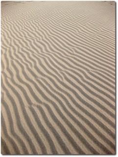 Echte Wüste im Death Valley - Mesquite Flats